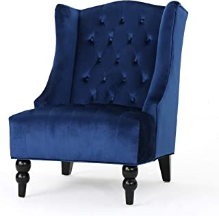 Best navy tufted accent chair Reviews
