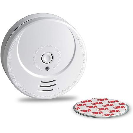 Mini Feuermelder mit 10-Jahres Batterie 2 Stück Vds-Zertifiziert /& Magnetmontage