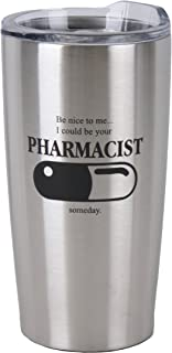 Medical - Nursing Stainless Steel Insulated 20 oz Travel Mug (Pharmacist)