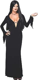 Adult Morticia Addams Costume Dress & Wig