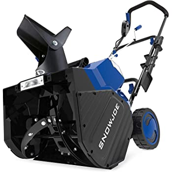 Snow Joe 24V-X2-SB18 48-Volt iON+ Cordless Snow Blower Kit | 18-Inch | W/ 2 x 4.0-Ah Batteries and Charger