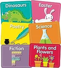 Carson Dellosa – Just Teach Library Labels Colorful Cut-Outs, Classroom Décor, 45 Pieces