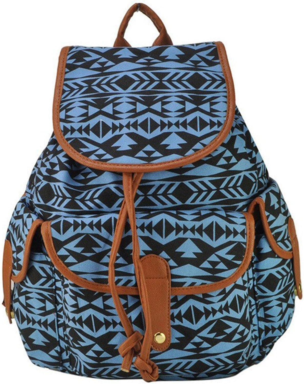 Animal Print 2 colors Charming Backpack For Girl School Rucksack Shoulder Bags