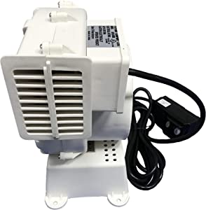 Replacement Yard Inflatable Blower UL Listed Motor Fan Air Pump Without Light String 120V 0.63A for Home Lawn Yard Garden Holiday Inflatable Decorations AH2