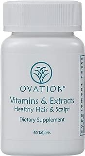 Ovation Hair Vitamins & Extracts: Healthy Hair & Scalp