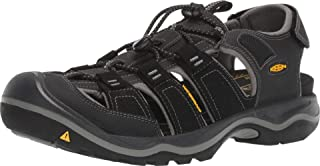 KEEN Rialto II H2 Sandal - Men's Black/Grey, 9.0