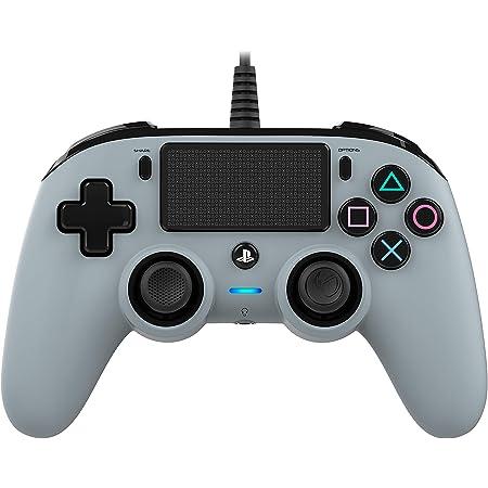 Nacon Compact Controller PS4 Ufficiale Sony PlayStation, Grigio