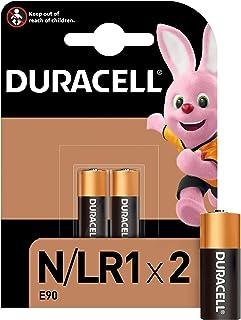 Duracell Specialty N Alkaline Batterie 1,5 V, 2er Packung (E90/LR1) entwickelt für die Verwendung in Taschenlampen, Taschenrechnern und Fahrradlichtern