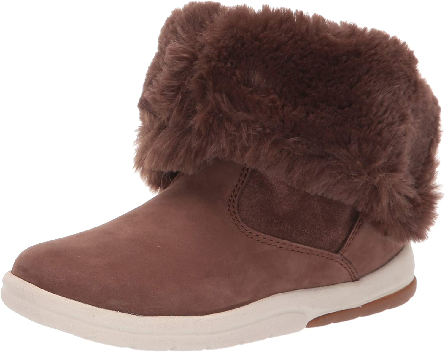 Timberland Unisex-Child Toddle Tracks Cheap mail order shopping Faux Seattle Mall Shearling Bootie Fash