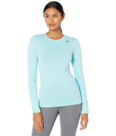 Craft Fuseknit Comfort Round Neck Long Sleeve (Area) Women
