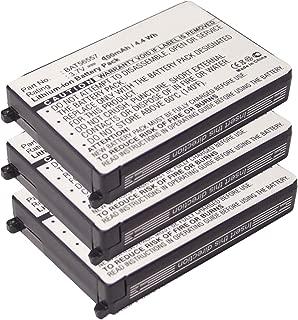 (3-Pack) 3.7V 900mAh Li-Ion FRS 2way Radio Battery Fits Motorola 56557, BAT56557, CLS1100, CLS1110, CLS1114, CLS1410, CLS1450CB, CLS1450CH, HCLE4159B, HCNN4006, HCNN4006A, SNN5571B, VL120, USA Ship