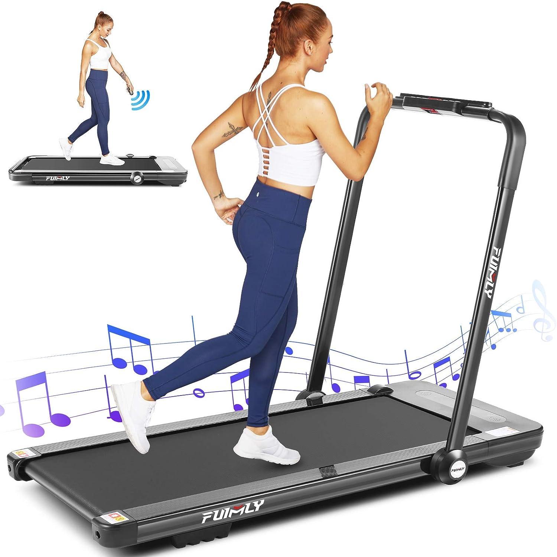 High material FUNMILY Treadmills for latest Home 2-in-1 Under-Desk Treadmill Walk