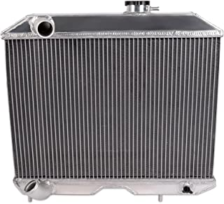 Full Aluminum Racing Radiator For 1941-1952 JEEP WILLYS M38 CJ-2A MB/Ford GPW D5 2Row Core