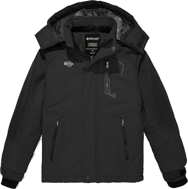 Wantdo Shipping included Boy's Waterproof Ski Jacket security W Fleece Jackets Snowboarding