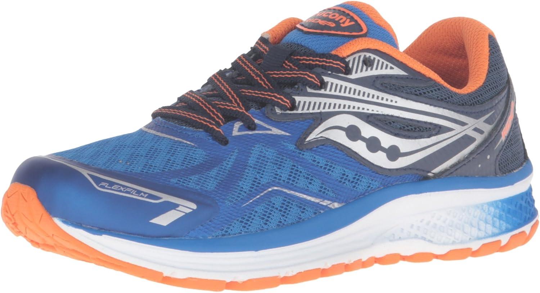 Saucony Unisex-Child Boys Ride 9-K Running Shoe