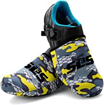 SLS3 Cycling Shoe Cover - Bike Shoe Toe Covers - Thermal Cycle Toe Cover Neoprene - Windproof Waterproof - No More Cold Feet
