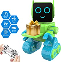 Robot Toy for Kids, Smart RC Robot Kit with Touch & Sound Control Robotics, Intelligent Programmable Walking,Dancing,Singi...