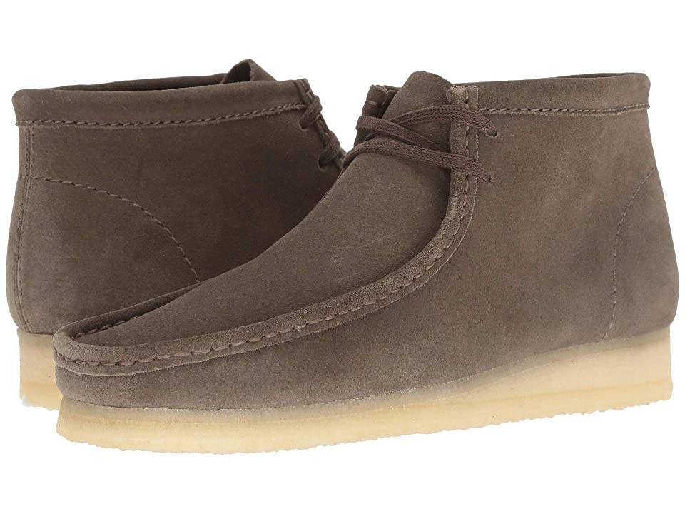 Clarks Wallabee Boot (Olive Suede) Men