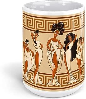 TeeWinter Five Muses Hercules The Cartoon 15oz White Mug