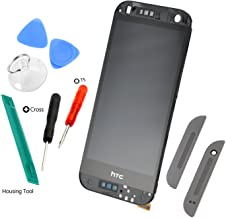 Easy To Shop LCD Display + Touch Screen Digitizer + Frame Assembly for HTC One Mini 2 M8 (Gunmetal Gray)