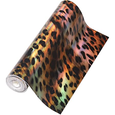 Leopard Printed Faux Leather Fabric Sheets Canvas Back for Bows Earrings Ornaments Making DIY Projects in Total 8 Sheets Each Sheet per Pattern 21x30cm 8 Patterns 8x12 Inch