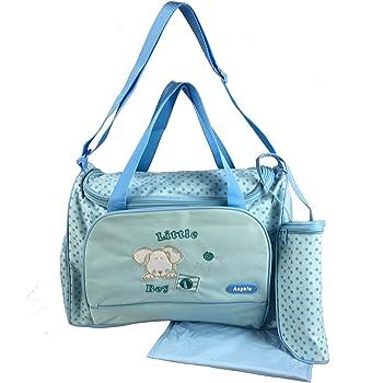 XXL 3pièces bébé couleur Bleu clair Sac à langer sac sac à