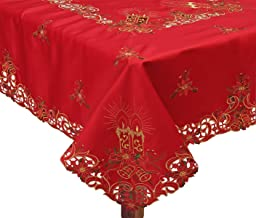 Best 72 inch square christmas tablecloth Reviews