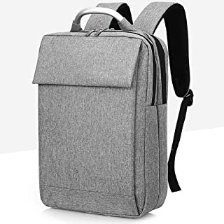 ZRM Multifunctional Business Computer Backpack, Unisex, Suitable for 15.6-inch Laptop (Color : Silver)