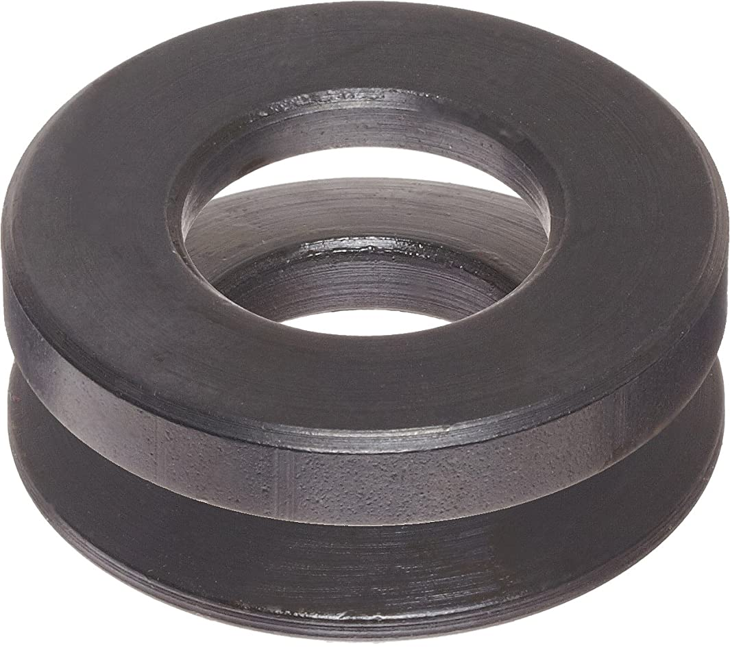 12L14 Steel Spherical Washer, Black Oxide Finish, Male & Female Assembly, 5/16