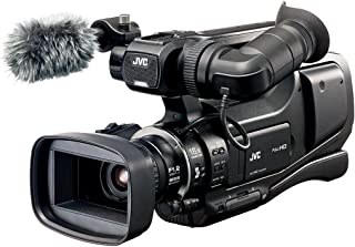 JVC JY-HM70 Professional Video Camcorder With Free High Power Fxlion Battery DF-U98 and Battery Charger PL-6000JL