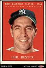 phil rizzuto baseball card