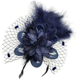 Fascinators Hair Clip Headband Feather Flower Veil Wedding Headwear Bridal 1920s Headpiece