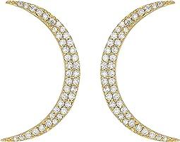 SHASHI - Crescent Earrings