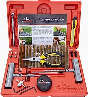 Boulder Tools – Heavy Duty Tire Repair Kit for Car, Truck, RV, Jeep, ATV,..