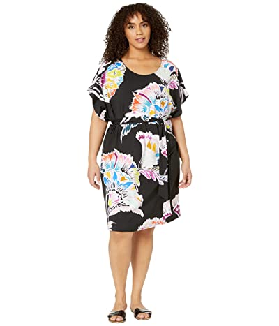 Trina Turk Plus Size Seychelles Tunic Cover-Up (Multi) Women