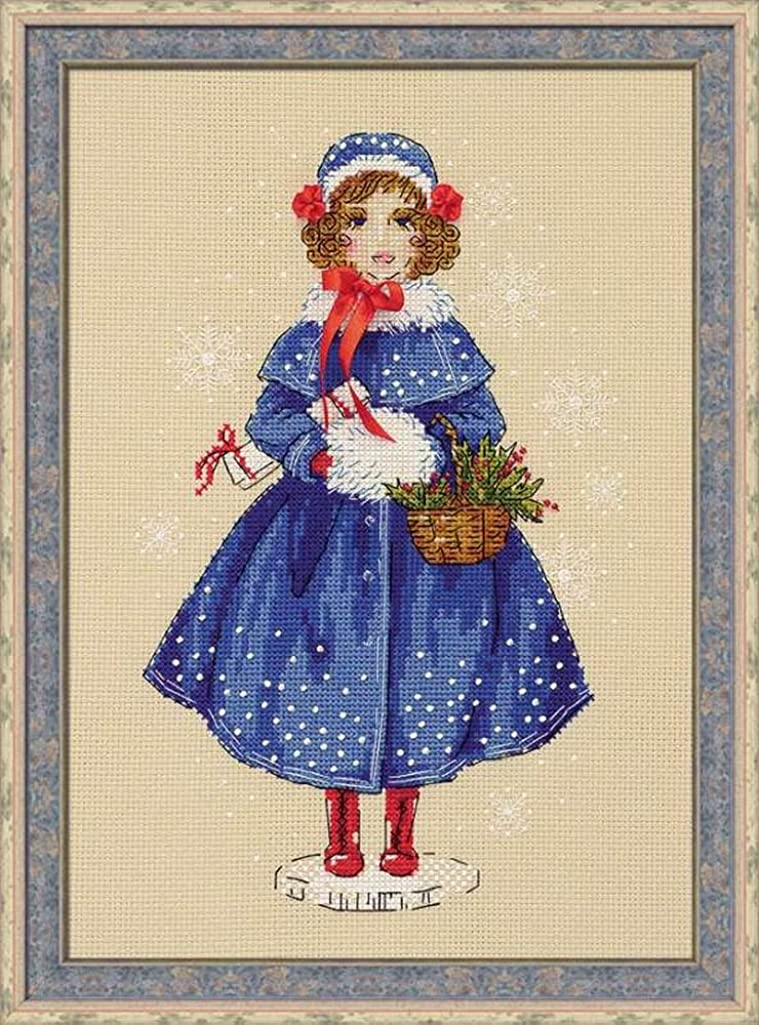 RIOLIS 1312 - Doll Marie - Counted Cross Stitch Kit 8