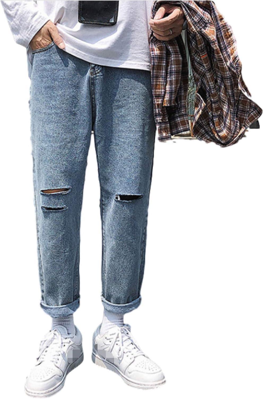 Mens Classic Straight Popular standard Leg Directly managed store Regular Fit Fall Denim Jeans Stylish