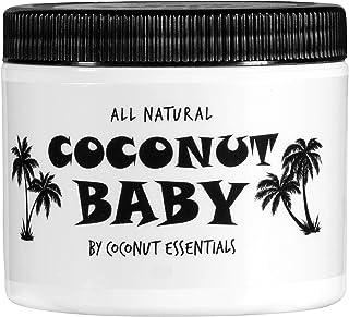 Coconut Baby Oil for Hair & Skin - Organic Moisturizer - All Natural - Massage - Sensitive Skin, Diaper Rash Guard - Infan...