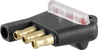 CURT 58260 Vehicle Socket Way Flat Towing Tester 4-Pin Trailer Wiring