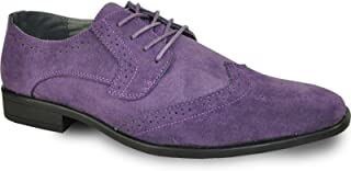 Men Dress Shoe King Classic Oxford with Leather Lining - Wide Width Available