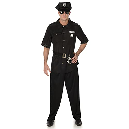 New York Cop Boys Fancy Dress USA Police Uniform Kids Childrens Costume Outfit