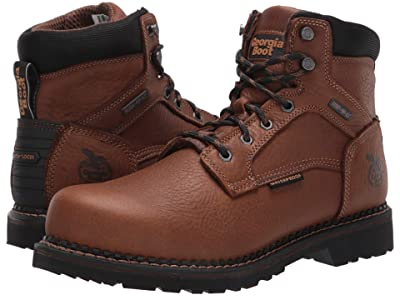 Georgia Boot ReVamp 6 Soft Toe Waterproof (Brown) Men