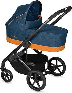 comprar comparacion Cybex Gold - Cochecito Balios S con silla reversible y con capazo S, desde el nacimiento hasta 17 kg (aprox. 4 años), trop...