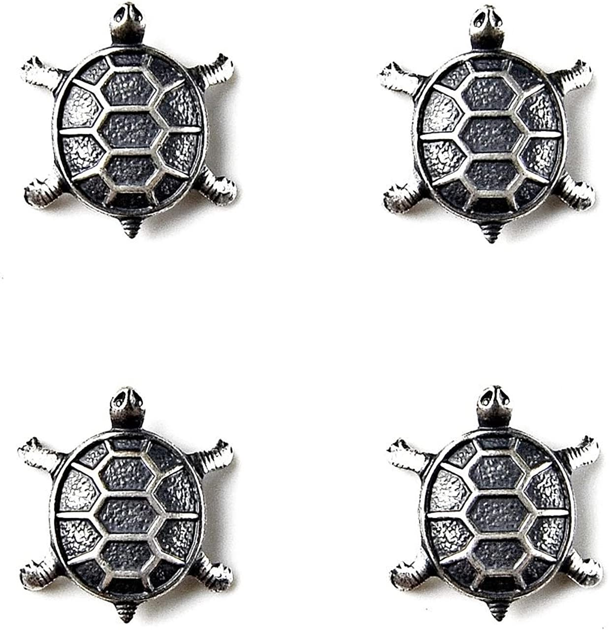 Quality Handcrafts Guaranteed Turtle Tuxedo Studs