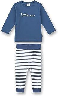 Sanetta Schlafanzug Lang Blau Pantoufles Bambins Bébé Fille
