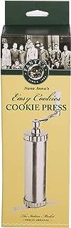 Fante's 12007 Easy Cookie Press, The Italian Market Original Since 1906, Silver