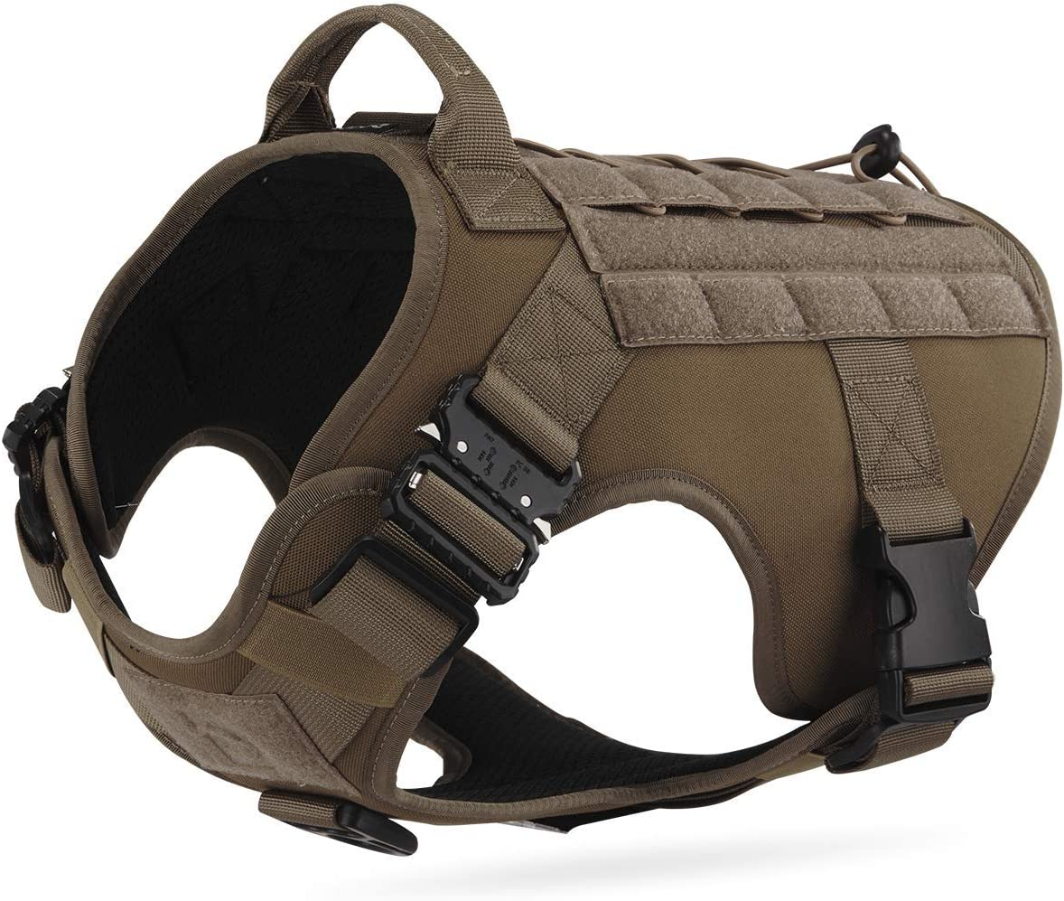 Tactical Camo Dog Harness Military Style Harnesses H Miami Mall MOLLE Award-winning store with