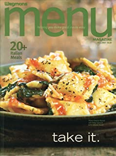 Wegmans Menu Magazine [Fall 2007]