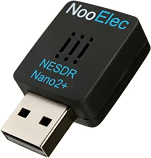 NooElec NESDR Nano 2+ Tiny Black RTL-SDR USB Set (RTL2832U + R820T2) with Ultra-Low Phase Noise 0.5PPM TCXO, MCX Antenna & Remote Control; Software Defined Radio, DVB-T and ADS-B Compatible, ESD Safe