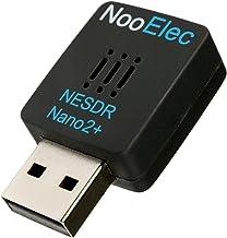 NESDR Nano 2+ RTL-SDR USB Set (RTL2832U + R820T2) con TCXO a 0.5PPM, antena MCX y control remoto; Compatible con software de radio, DVB-T y ADS-B, ESD Safe